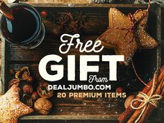 FREE: Special Christmas & New Year 2017 Gift from Dealjumbo by CruzineDesign