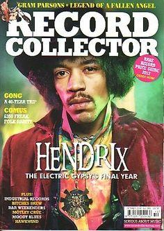RECORD COLLECTOR Magazine(UK)- October 2010 - Jimi Hendrix cover.   #jimihendrix
