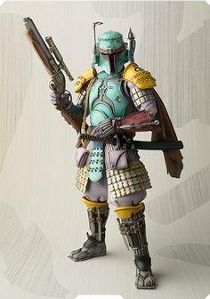 Star Wars as Samurai....