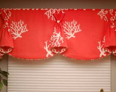 BUNNY EARS Custom Valance Hidden Rod Pocket di BlackBeltHomeDecor