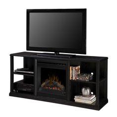 Camden Convertible Media Fireplace Family Room