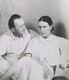 architect Erich Mendelsohn and his wife Luise