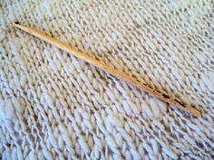 6 mm. handmade wood crochet hook by deorigenchile on Etsy, $6.00