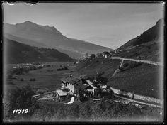 Tinizong, Ortsteilansicht, 1914 (ca. Switzerland, Mountains, History, Nature, Travel, Historia, Viajes, Naturaleza, Destinations