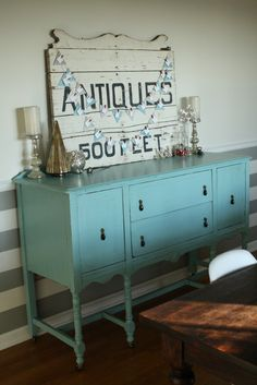 Primitive & Proper: My New Sideboard with how to's!