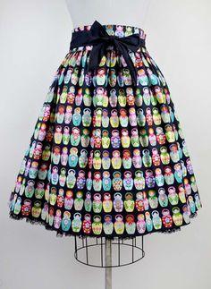 Gypsy Skirt - Russian Dolls
