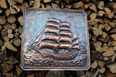 Hey, I found this really awesome Etsy listing at https://www.etsy.com/il-en/listing/264838038/clipper-ship-craft-handmade-copper-panel