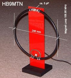 HB9MTN MAGNETIC LOOP FOR BROADCAST RECEPTION