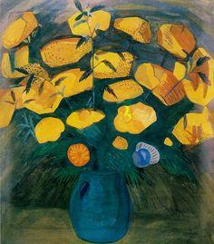 Martiros Saryan  Yellow flowers (Dzhan Gyulum). 1914