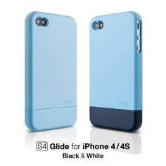 elago S4 Glide Case for AT&T and Verizon iPhone 4 - Soft Feeling Pastel Blue + Extra Bottom Clip + Front Protection Film + Back Protection Film included. Case is compatible with iphone 4/4S white & Black iPhone. Complete protection for your iPhone 4 / 4S, Durable hardshell construction. Direct access to all device features. Included Extra Bottom Clip, Front Protection Film and Back Protection Film. Product designed by elago in califonia and Made in Korea.