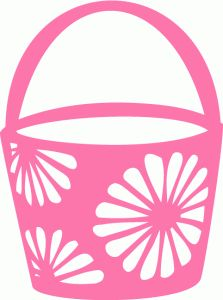 Silhouette Online Store - View Design #39887: easter basket