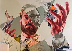 Large-Scale Murals by Studio Giftig – Inspiration Grid Scale Art, Distortion Art, Art Alevel, Art Studios, Nature Drawing, Art, Art Movement, Street Art, Art Portfolio