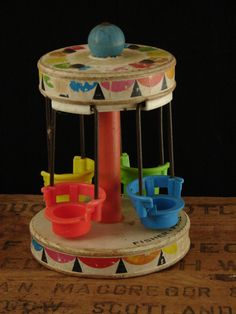Vintage Fisher Price Chair Ride My Weeble Wobbles loved this ride :) Jouets Fisher Price, Fisher Price Toys, Vintage Fisher Price, My Childhood Memories, Childhood Toys, Vintage Love, Vintage Items, Vintage Kids, Electronic Toys