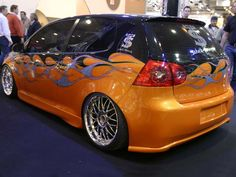 Tuned Volkswagen Golf