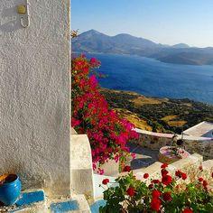 Milos Island/Plaka - Cyclades/Greece Photo by Valeria B. (instagram: @lellavb) #milos #milosisland #milos_island #milosphenomenon #aegean #cyclades #hellas #greece #grecia #grekland #bestisland #visitgreece #visit_greece #vacations #travel #holidays #cyclades_islands #greekislands #griechenland #reasonstovisitgreece #travel_greece #plaka #kastro #sunset #view #tradition #colors #landscape #sky #sea #village Visit Greece, Sky Sea, Sea Level, Greek Islands, Greece Travel, Vacations, Castle, Holidays, Sunset