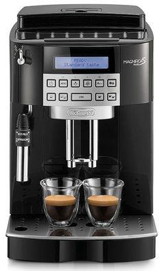 DeLonghi Magnifica S ECAM 22.320.B  DeLonghi Magnifica S ECAM 22.320.B: Exclusief model bij Koffiediscounter! De DeLonghi Magnifica S ECAM 22.320.B is de ideale starter als het gaat om volautomatische espressomachines.En alleen bij Koffiediscounter verkrijgbaar in het zwart! Het strakke ontwerp en compacte afmetingen passen in iedere keuken. Met de DeLonghi Magnifica S ECAM 22.320.B bereid jij in een handomdraai de ideale koffie espresso en cappuccino. Kies zelf de maalinstellingen…