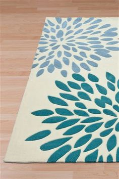 Bloom Teal Rug From The Next Uk Online