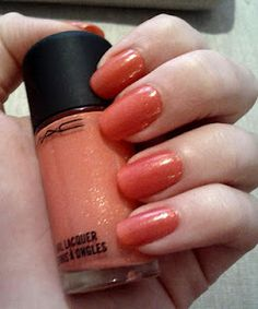 MAC Nail Lacquer in Tipover- #WestfieldStyle
