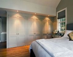 Bedroom Wall Closet Designs Built In Closet Wall Great Storage Space Home Designing Best Concept Bedroom Wardrobe, Wardrobe Doors, Home Bedroom, Bedroom Wall, Closet Doors, Wardrobe Ideas, Closet Ideas, Wardrobe Wall, Bedrooms