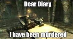 Don't you just hate that? How inconsiderate! Gah! Welcome to Skyrim...