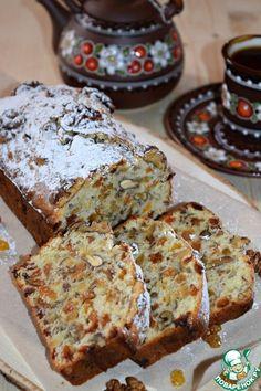 """Кекс с изюмом и орехами """"Лакомка"""" - кулинарный рецепт"""
