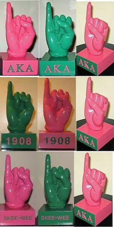 AKA pinky figurines