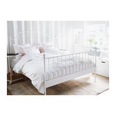 LEIRVIK Estrutura de cama - 140x200 cm, - - IKEA