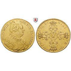 Brandenburg-Preussen, Königreich Preussen, Friedrich Wilhelm I., Wilhelms d`or 1737, ss+: Friedrich Wilhelm I. 1713-1740. Wilhelms… #coins