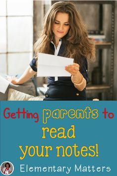 Elementary Matters: Getting Parents to Read Your Notes - Sally always has terrific ideas! This one is a must read if you ever feel like no one is listening! First Day Of School, Middle School, High School, Classroom Organization, Classroom Management, Class Management, Classroom Ideas, Schools Around The World, Parent Teacher Conferences