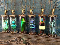 Terrarium necklace R