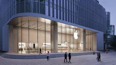 Apple Store del este de Nanjing en Shanghái (China)