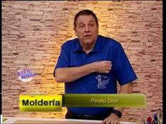 Hermenegildo Zampar - Bienvenidas TV - Explica la Pinza Dior. - YouTube Pattern Drafting Tutorials, Sewing Tutorials, Dior, Sewing Basics, Learn To Sew, Sewing Techniques, Pattern Making, Dressmaking, Online Business