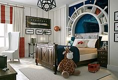 Zillow What a great idea for a kids bedroom!