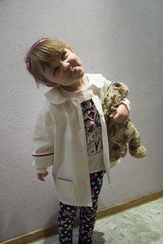 халат доктора для ребенка