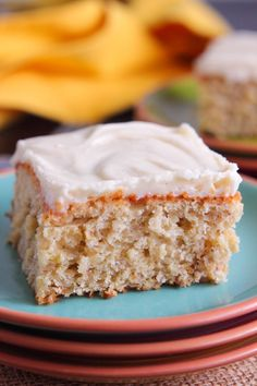 My Go-To Banana Cake with Cream Cheese Frosting