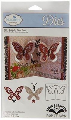 Elizabeth Craft Designs Pop It Up Metal Dies by Karen Burniston, Butterfly Pivot Card Elizabeth Craft Designs https://www.amazon.ca/dp/B00IXWKNGI/ref=cm_sw_r_pi_dp_g8caxbMP8E34C