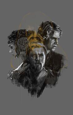 Star Wars Generations - Created by Rafal Rola