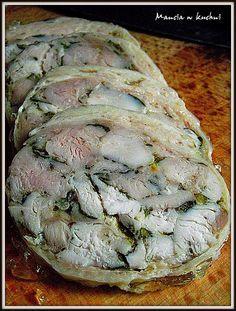 Mancia w kuchni: Baleron białoruski z kurczaka
