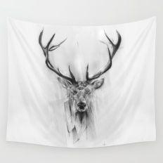 Red Deer Wall Tapestry