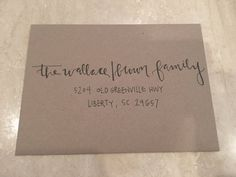 Custom Hand Addressed Envelopes requires quote by MaCoArts on Etsy