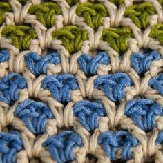 Crochet Moroccan Stitch Tutorial
