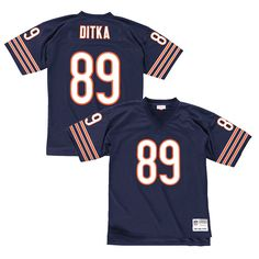 Mike Ditka Chicago Bears Mitchell & Ness Replica Retired Player Jersey – Navy Blue - $149.99