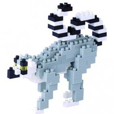 Mini series NANOBLOCK // Ring-Tailed Lemur