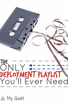 Music suggestions from milsos and milspouses who have been through deployment; gotta keep this list for later! Military Girlfriend, Military Love, Army Love, Military Deployment, Military Spouse, Airforce Wife, Usmc, Marines, Navy Life