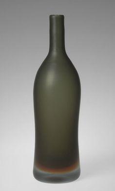 Paolo Venini. Bottle Vase. 1956