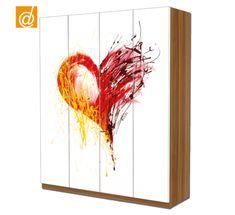 L'arte arriva sul tuo armadio Ikea Pax.  www.decorailtuoarmadio.com Novità!!! Guarda le nuove decorazioni #cloc
