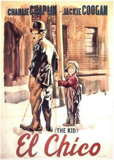 El chico (The Kid) 1921 Con Charles Chaplin, Jackie Coogan, Edna Purviance Best Movie Posters, Cinema Posters, Charlie Chaplin, Kid Movies, Movie Tv, The Kid 1921, Caricatures, Vevey, Silent Film