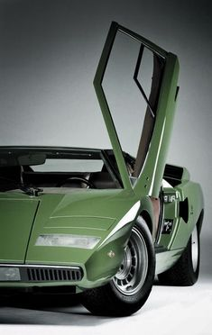 Moss Green Lamborghini. Y'know, just for grocery runs.