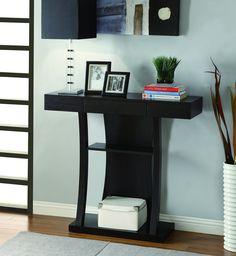 Coaster Home Furnishings 950048 Contemporary Console Table, Cappuccino