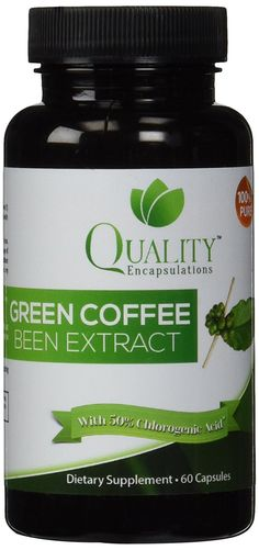 100% Pure! Green Coffee Bean Extract 800 with GCA Natural Weight Loss Supplement, 60 Capsules * Discover this special product, click the image : Garcinia cambogia
